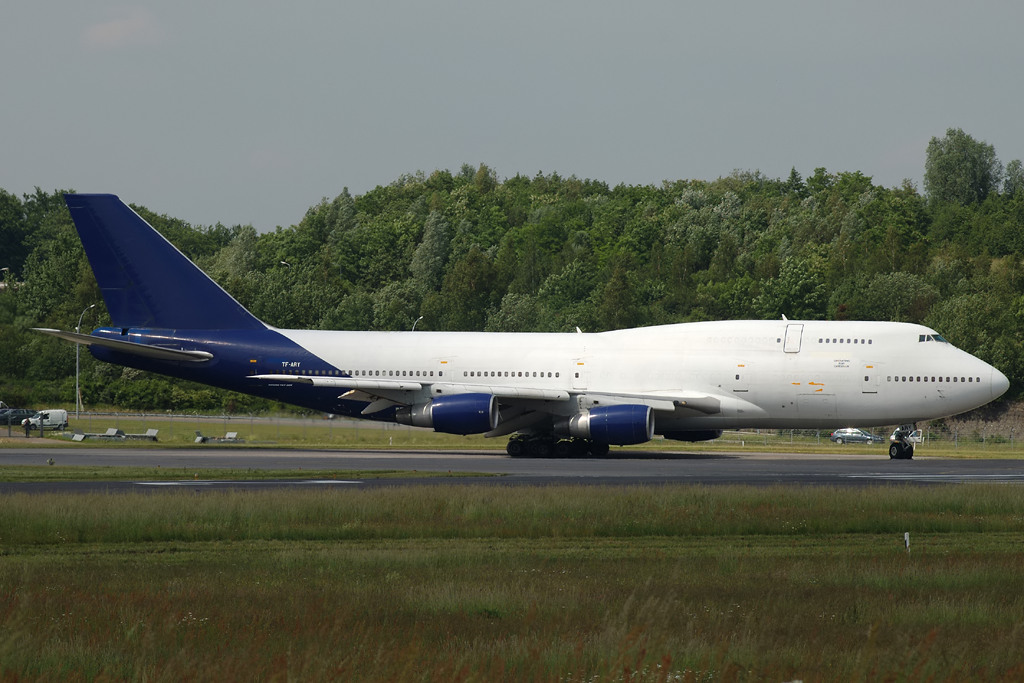 Air Atlanta Cargo Boeing B747200F TFARJ 20050604 LUX