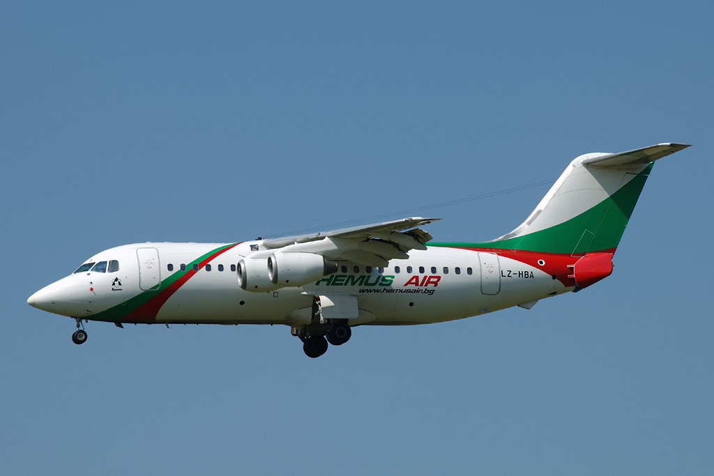 Авиакомпания Хемус Эйр (Hemus Air).2